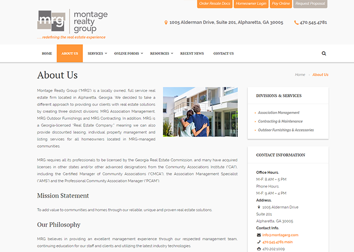 About Montage Realty Group
