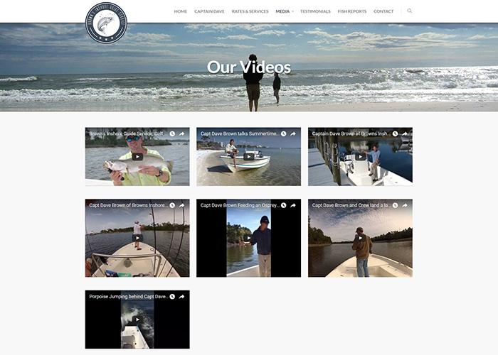 Brown's Inshore Guide Service Videos